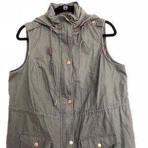 Market & Spruce Vest Size 1X